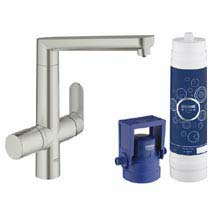 Grohe Blue K7 Pure Starter Kit - SuperSteel - 31344DC1 Medium Image
