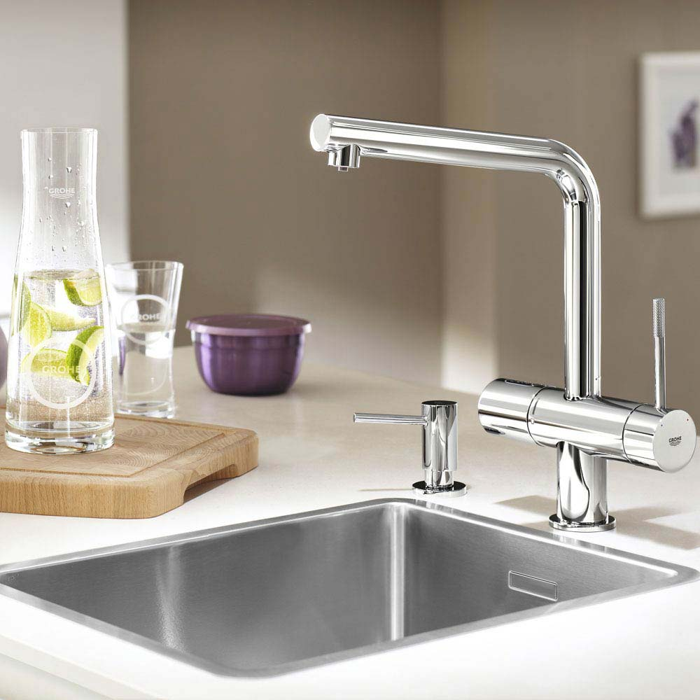 Grohe Blue Chilled & Sparkling Starter Kit with Minta Tap - Chrome - 31347002  Feature Large Image