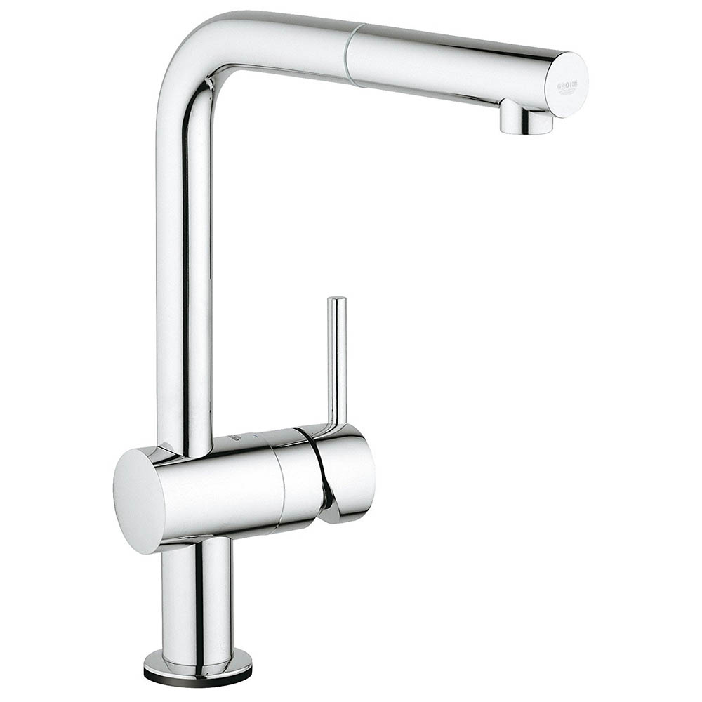 Grohe Minta Touch Electronic Kitchen Sink Mixer with Pull Out Spray - Chrome - 31360001