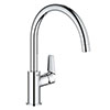 Grohe BauEdge Kitchen Sink Mixer - 31367001 profile small image view 1