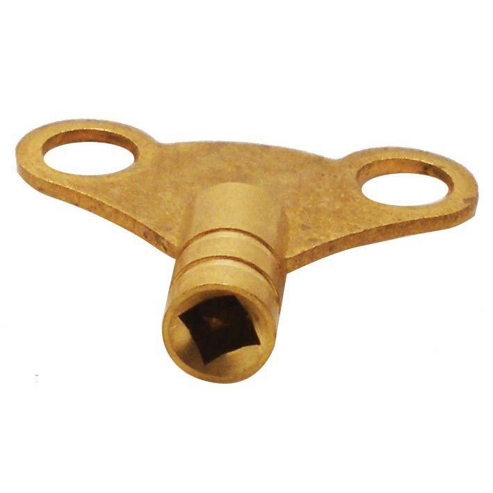 Brass Clock Radiator Key Large Image