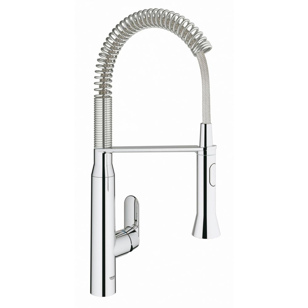 Grohe K7 Kitchen Sink Mixer with Professional Spray - Chrome - 31379000 Large Image