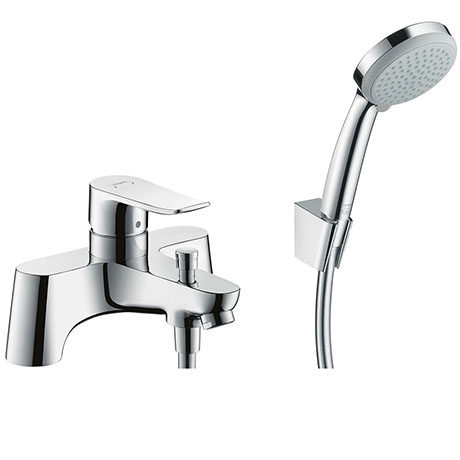 hansgrohe Metris Bath Shower Mixer with Kit (Low Pressure) - 31422000
