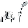 hansgrohe Metris Bath Shower Mixer with Kit (Low Pressure) - 31422000 profile small image view 1