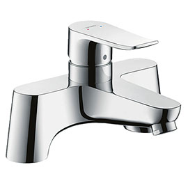 hansgrohe Metris Manual Single Lever Bath Mixer (Low Pressure) - 31423000
