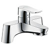 hansgrohe Metris Manual Single Lever Bath Mixer (Low Pressure) - 31423000 profile small image view 1