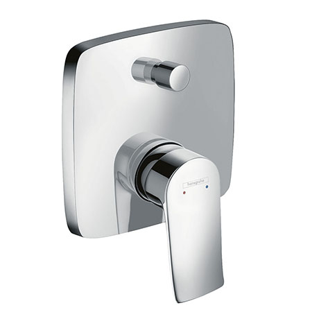 hansgrohe Metris Concealed Single Lever Manual Bath Mixer with Backflow Prevention - 31451000
