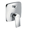 hansgrohe Metris Concealed Single Lever Manual Bath Mixer with Backflow Prevention - 31451000 profile small image view 1