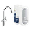 Grohe C-Spout Blue Home Duo Starter Kit - Chrome - 31455001 profile small image view 1