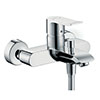 hansgrohe Metris Exposed Single Lever Bath Shower Mixer - 31480000 profile small image view 1