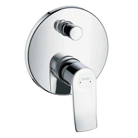 hansgrohe Metris Concealed Single Lever Manual Bath Mixer - 31493000