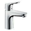 hansgrohe Focus Single Lever Basin Mixer 100 LowFlow without Waste - 31513000 profile small image view 1