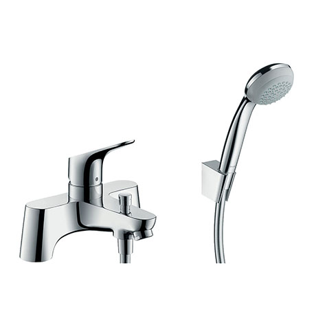 hansgrohe Focus Bath Shower Mixer with Kit (Low Pressure) - 31521000