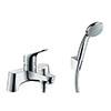 hansgrohe Focus Bath Shower Mixer with Kit (Low Pressure) - 31521000 profile small image view 1