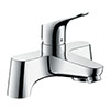 hansgrohe Focus Single Lever Bath Filler (Low Pressure) - 31523000 profile small image view 1