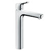 hansgrohe Focus Single Lever Basin Mixer 230 with Pop-up Waste - 31531000 profile small image view 1