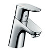 hansgrohe Focus Single Lever Basin Mixer 70 CoolStart with Pop-up Waste - 31539000 profile small image view 1
