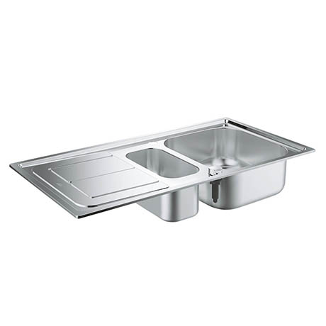 Grohe K300 1.5 Bowl Stainless Steel Kitchen Sink - 31564SD0