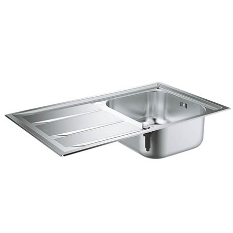 Grohe K400+ 1.0 Bowl Stainless Steel Kitchen Sink - 31568SD0