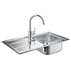 Grohe Concetto Stainless Steel Kitchen Sink & Tap Bundle - 31570SD0 profile small image view 1