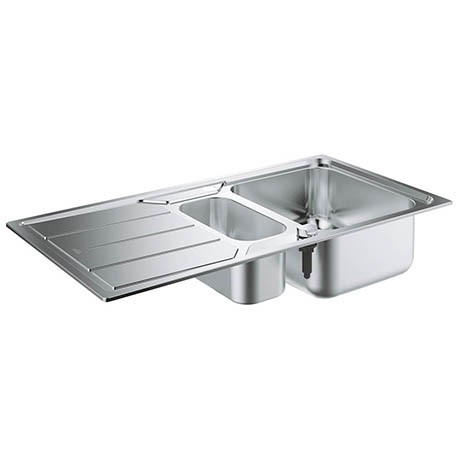 Grohe K500 1.5 Bowl Stainless Steel Kitchen Sink - 31572SD0