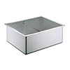 Grohe K700 1.0 Bowl Undermount Stainless Steel Kitchen Sink - 31574SD0 profile small image view 1