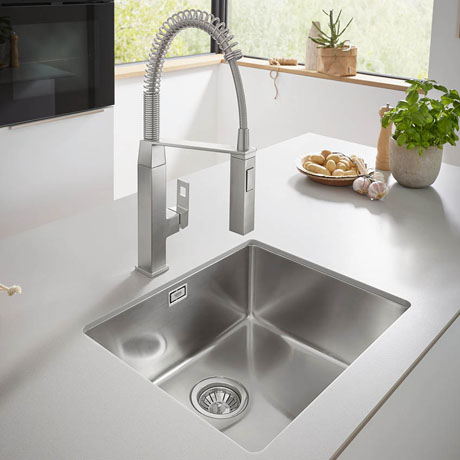 Grohe K700 1.0 Bowl Undermount Stainless Steel Kitchen Sink - 31574SD0