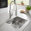 Grohe K700 1.0 Bowl Undermount Stainless Steel Kitchen Sink - 31574SD0 Small Image