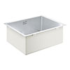 Grohe K700 1.0 Bowl Undermount Stainless Steel Kitchen Sink - 31574SD1 profile small image view 1