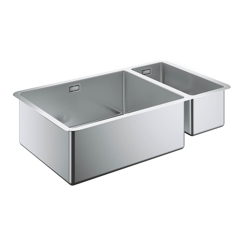 Grohe K700 1.5 Bowl Undermount Stainless Steel Kitchen Sink - 31575SD0