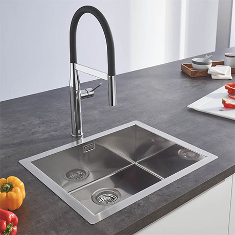 Grohe K700 1.0 Bowl Stainless Steel Kitchen Sink - 31579SD0