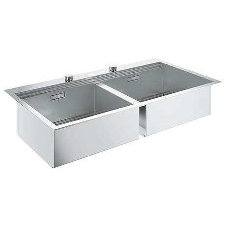 Grohe K800 2.0 Bowl Stainless Steel Kitchen Sink - 31585SD0