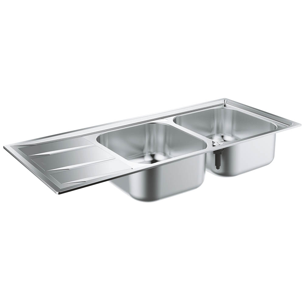 Grohe K400 2.0 Bowl Stainless Steel Kitchen Sink - 31587SD0
