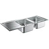 Grohe K500 2.0 Bowl Stainless Steel Kitchen Sink - 31588SD0 profile small image view 1
