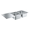 Grohe K500 2.0 Bowl Stainless Steel Kitchen Sink - 31588SD1 profile small image view 1