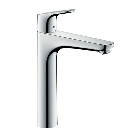 hansgrohe Focus Single Lever Basin Mixer 190 with Pop-up Waste - 31608000