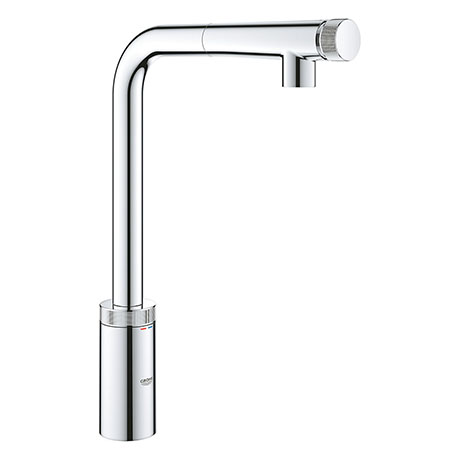Grohe Minta Smartcontrol Kitchen Sink Mixer with Pull Out Spray - 31613000