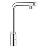 Grohe Minta Smartcontrol Kitchen Sink Mixer with Pull Out Spray - 31613000 profile small image view 1
