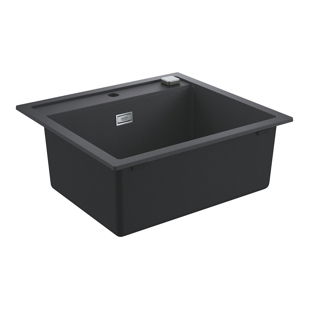 Grohe K700 1.0 Bowl Composite Kitchen Sink - Granite Black - 31651AP0