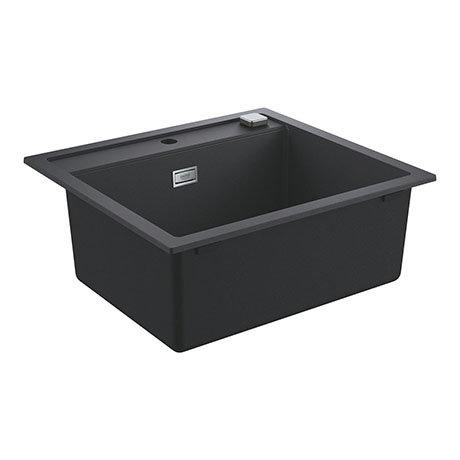 Grohe K700 1.0 Bowl Composite Kitchen Sink - Granite Black - 31651AP0