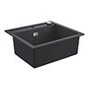 Grohe K700 1.0 Bowl Composite Kitchen Sink - Granite Black - 31651AP0 profile small image view 1