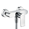 hansgrohe Metris Exposed Single Lever Manual Shower Mixer - 31680000 profile small image view 1