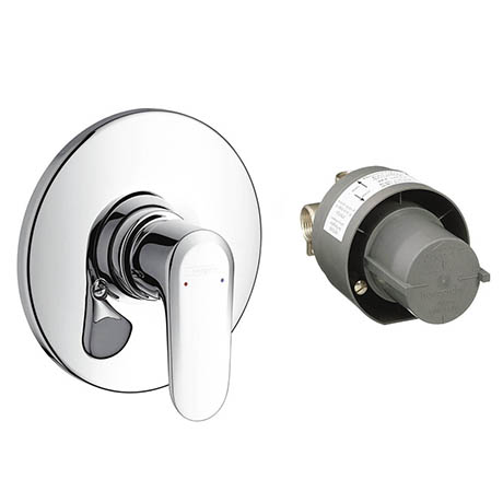 Hansgrohe Ecos Concealed Shower Mixer Set - 31702000