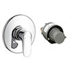 Hansgrohe Ecos Concealed Shower Mixer Set - 31702000 profile small image view 1