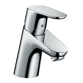hansgrohe Focus Single Lever Basin Mixer 70 without Waste (min. 0.5 Bar) - 31733010