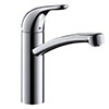 hansgrohe Focus M41 Single Lever Kitchen Mixer E 160 - 31780000 profile small image view 1