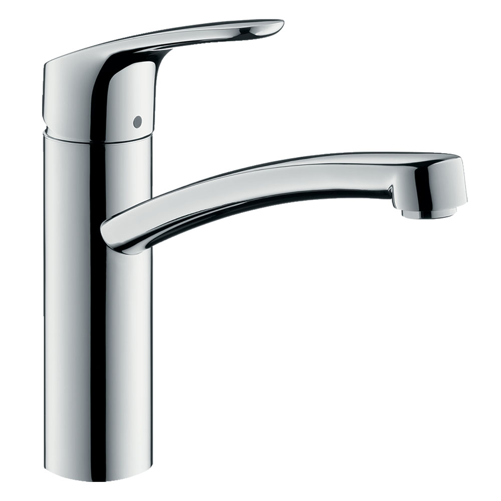 hansgrohe Focus M41 Single Lever Kitchen Mixer 160 - Chrome - 31806000