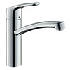 hansgrohe Focus M41 Single Lever Kitchen Mixer 160 - Chrome - 31806000 profile small image view 1
