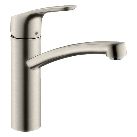 hansgrohe Focus M41 Single Lever Kitchen Mixer 160 - Stainless Steel - 31806800