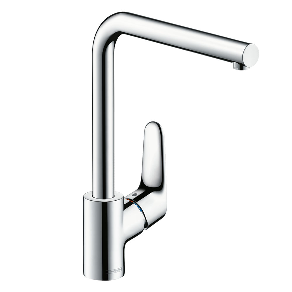 hansgrohe Focus M41 Single Lever Kitchen Mixer 280 - Chrome - 31817000
